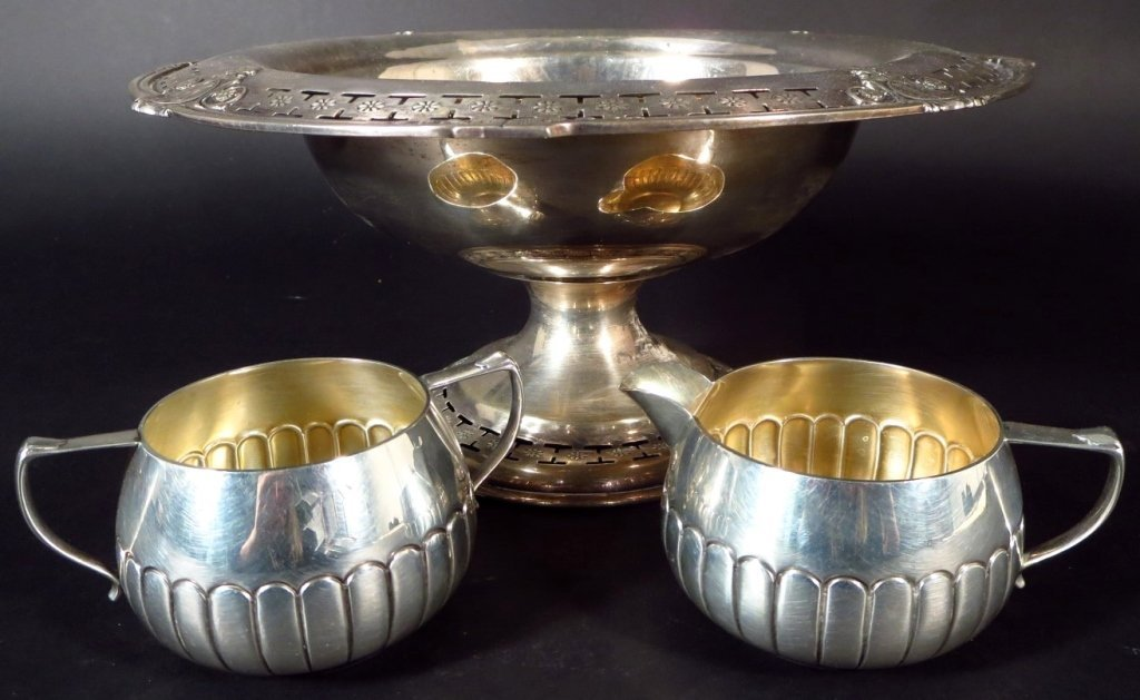 Sterling Silver Tableware, Am. & English, 20th C. - 4