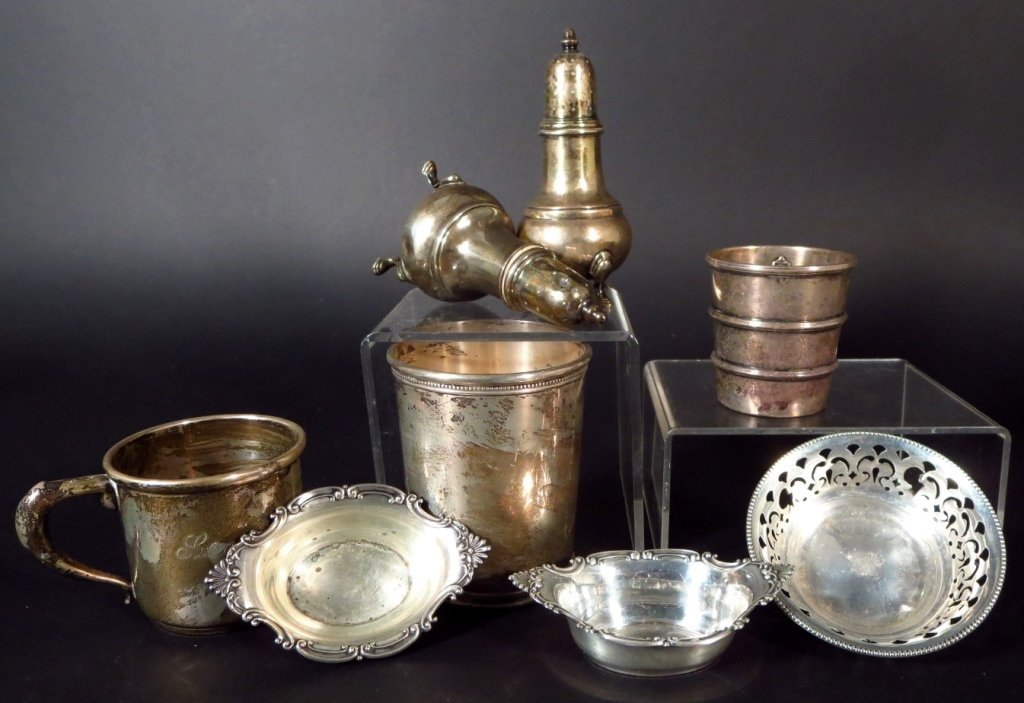 Sterling Silver Tableware, Am. & English, 20th C. - 7