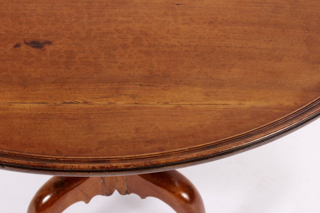 Chippendale Tilt Top Table American 18th C. - 3