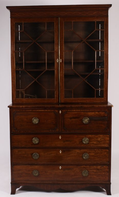 Federal Secretary Bookcase c. 1800