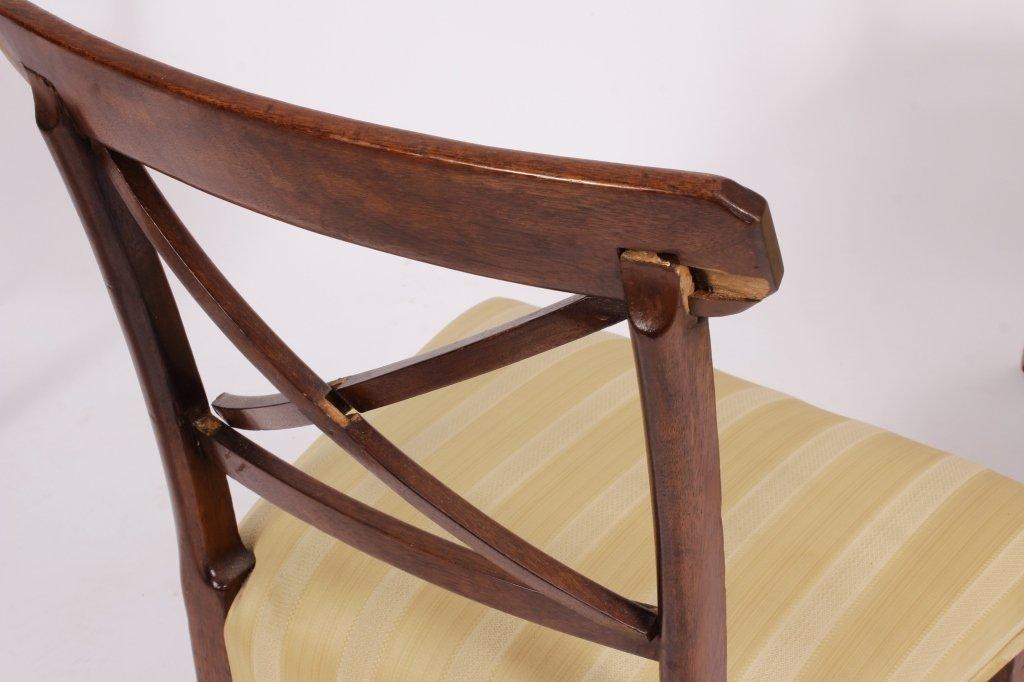 Set of 8 George III / Regency Chairs early 19th C. - 2