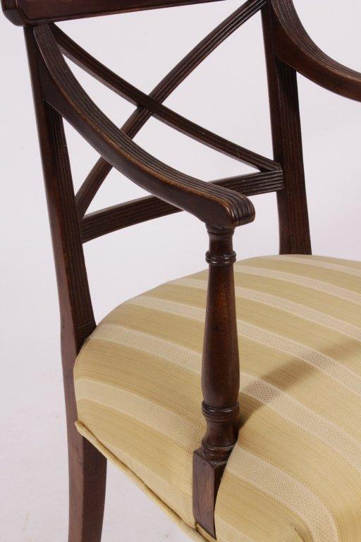 Set of 8 George III / Regency Chairs early 19th C. - 5