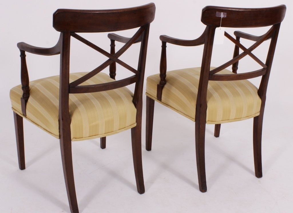 Set of 8 George III / Regency Chairs early 19th C. - 6
