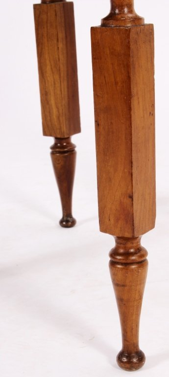 American Maple Side Table, 19th C., - 3