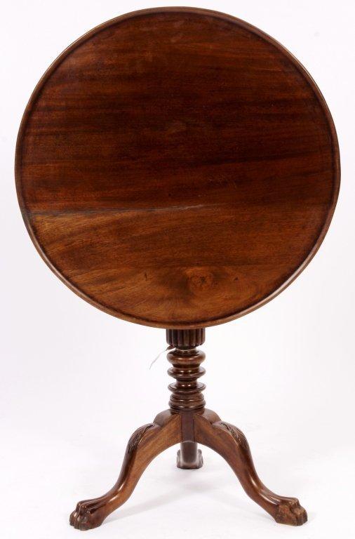 George III Style Tilt Top Table mid 19th C.