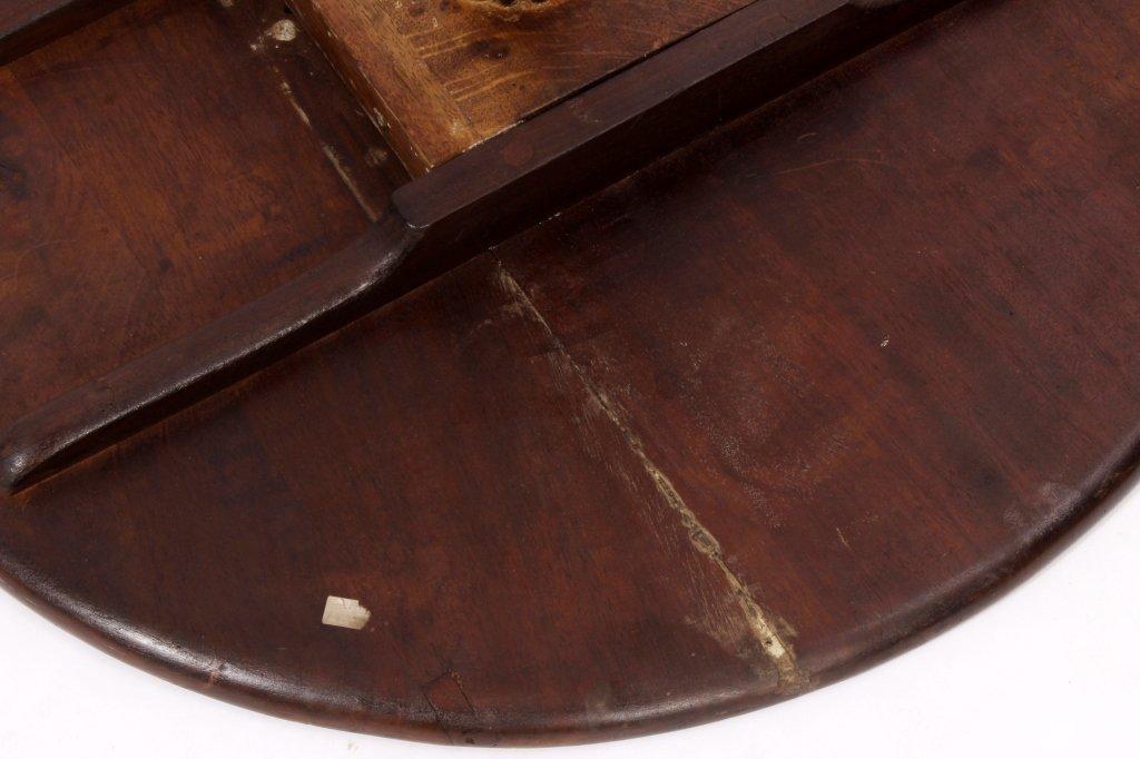 George III Style Tilt Top Table mid 19th C. - 6