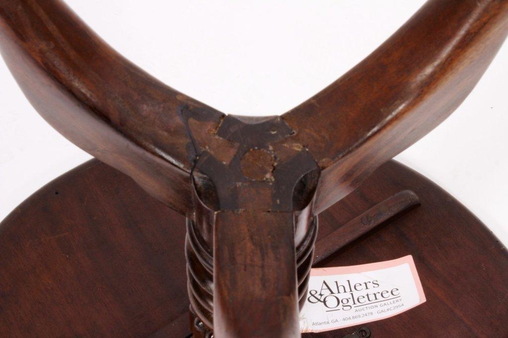 George III Style Tilt Top Table mid 19th C. - 7