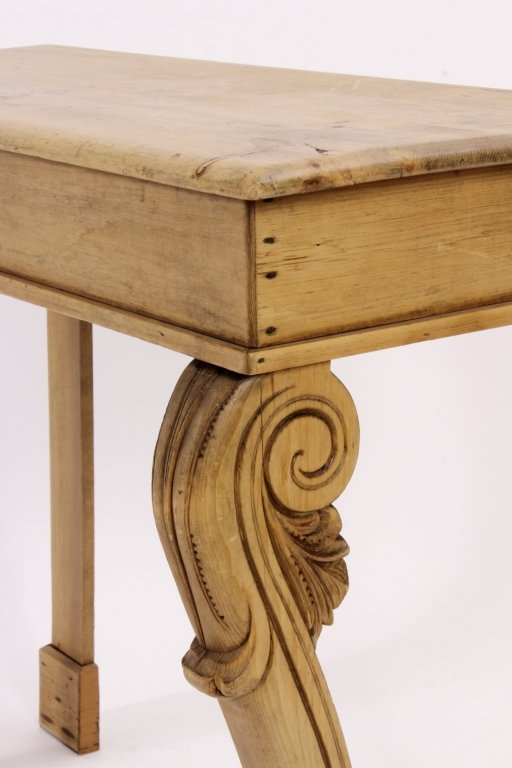 Console Table, Pine,  American, 20th C. - 2