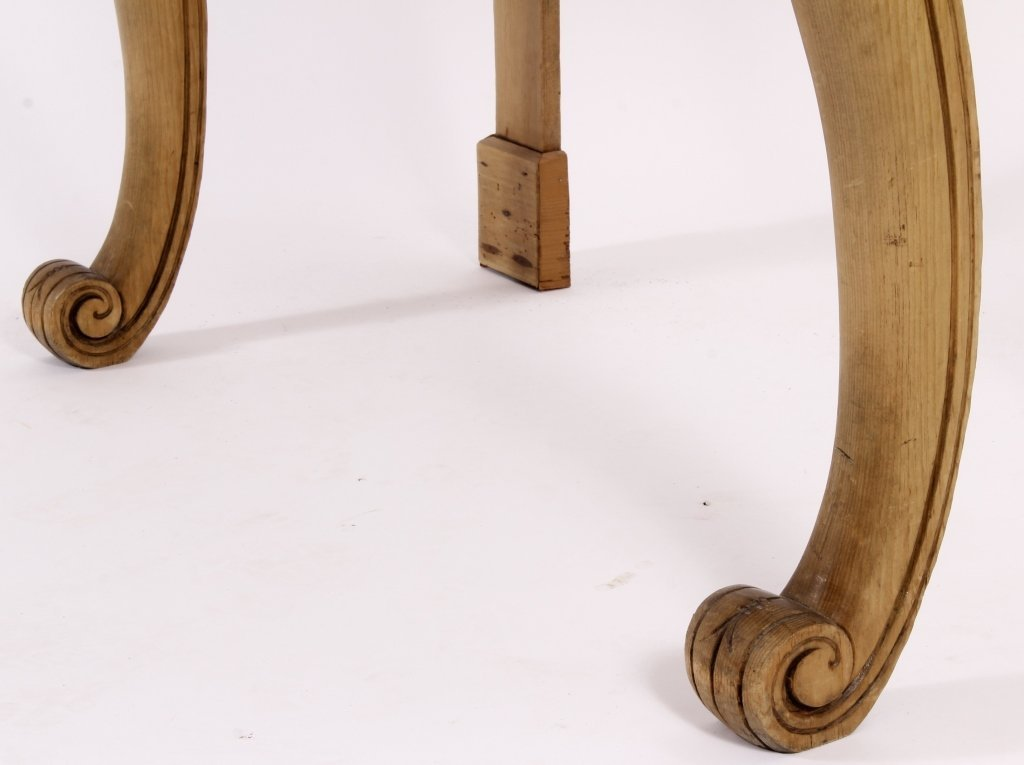 Console Table, Pine,  American, 20th C. - 3