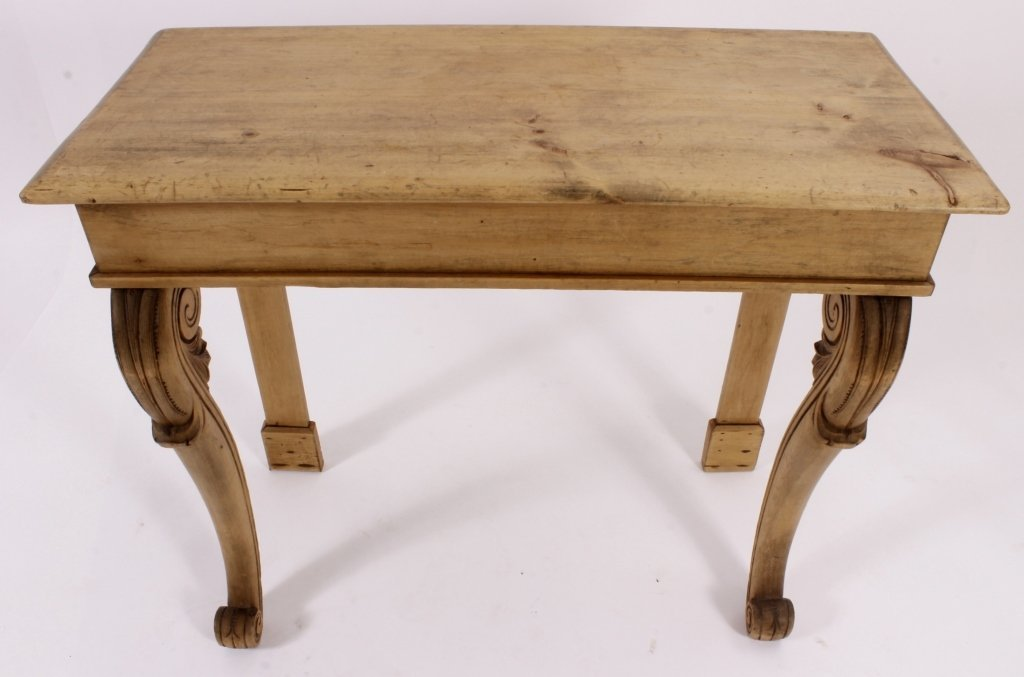 Console Table, Pine,  American, 20th C. - 4