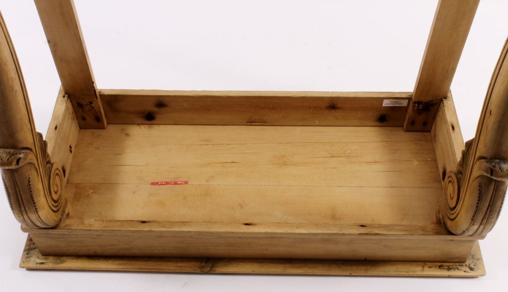 Console Table, Pine,  American, 20th C. - 6
