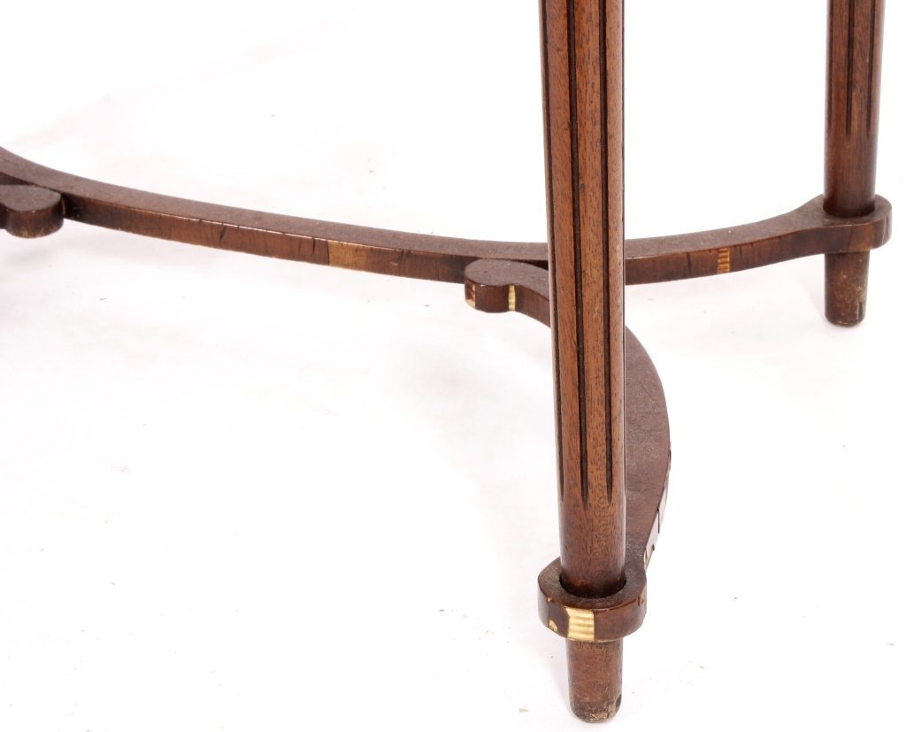 Two Items, Ladies Writing Desk & Caned Side Chair - 5