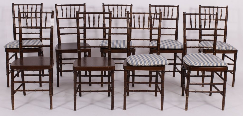 9 Vintage Shelby Williams Banquet Chairs