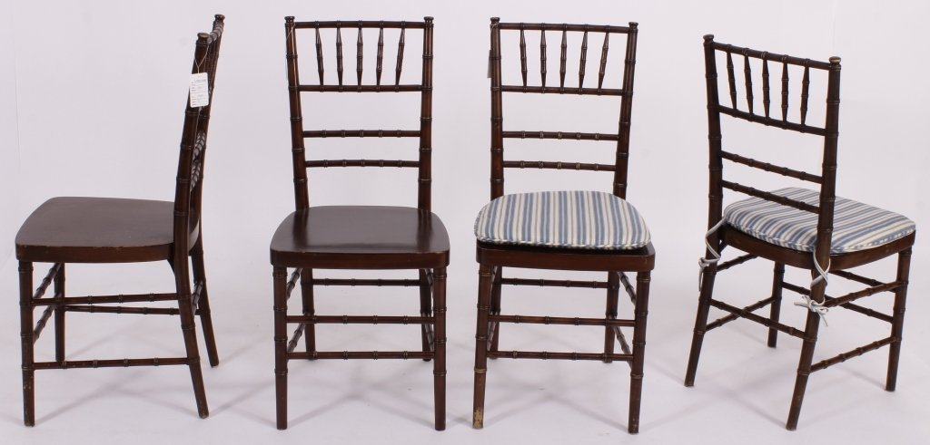 9 Vintage Shelby Williams Banquet Chairs - 2