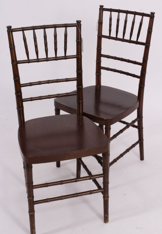 9 Vintage Shelby Williams Banquet Chairs - 3