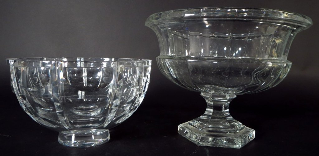 Group of Crystal Objects includes Baccarat,Steuben - 8