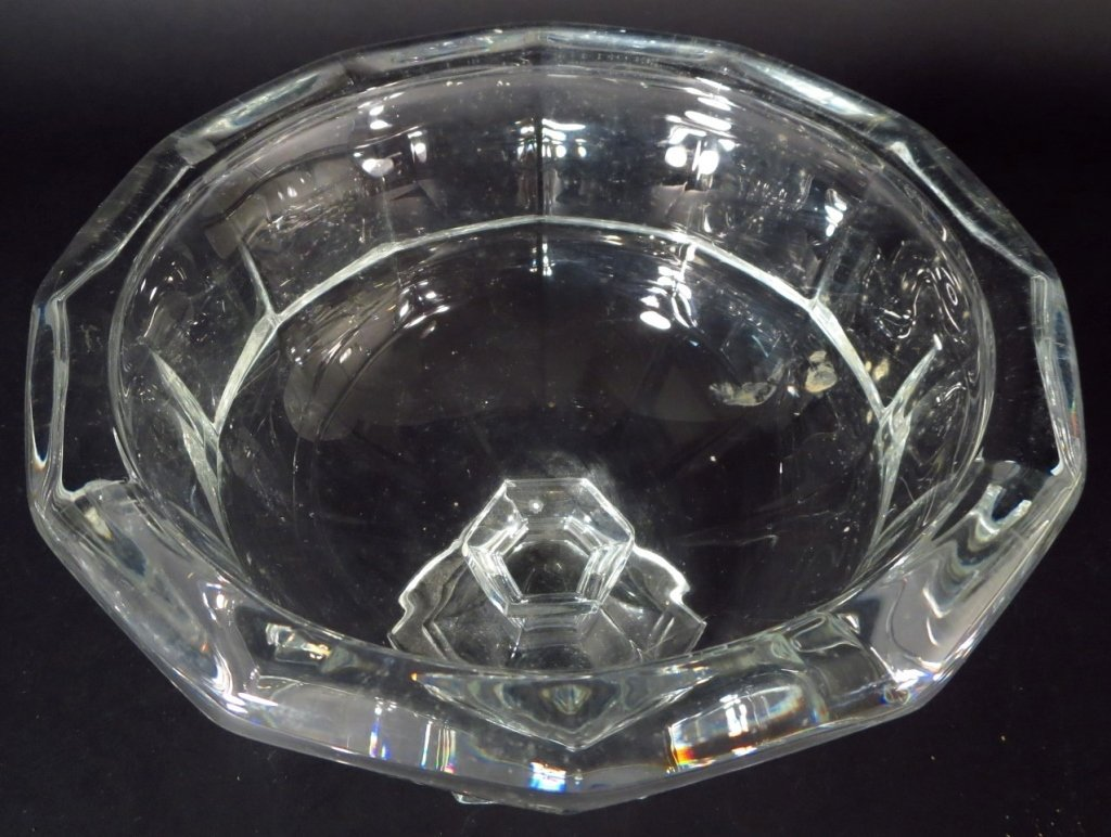 Group of Crystal Objects includes Baccarat,Steuben - 9