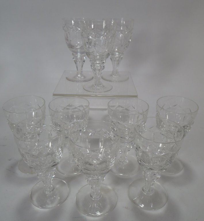 Lot of 29 Assorted Cut-Crystal Glasses - 6