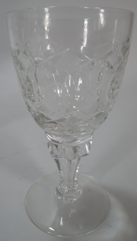 Lot of 29 Assorted Cut-Crystal Glasses - 7