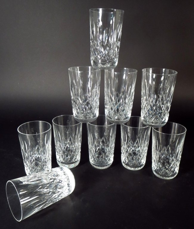 59 Pieces Waterford Glassware, in 6 Sizes - 4