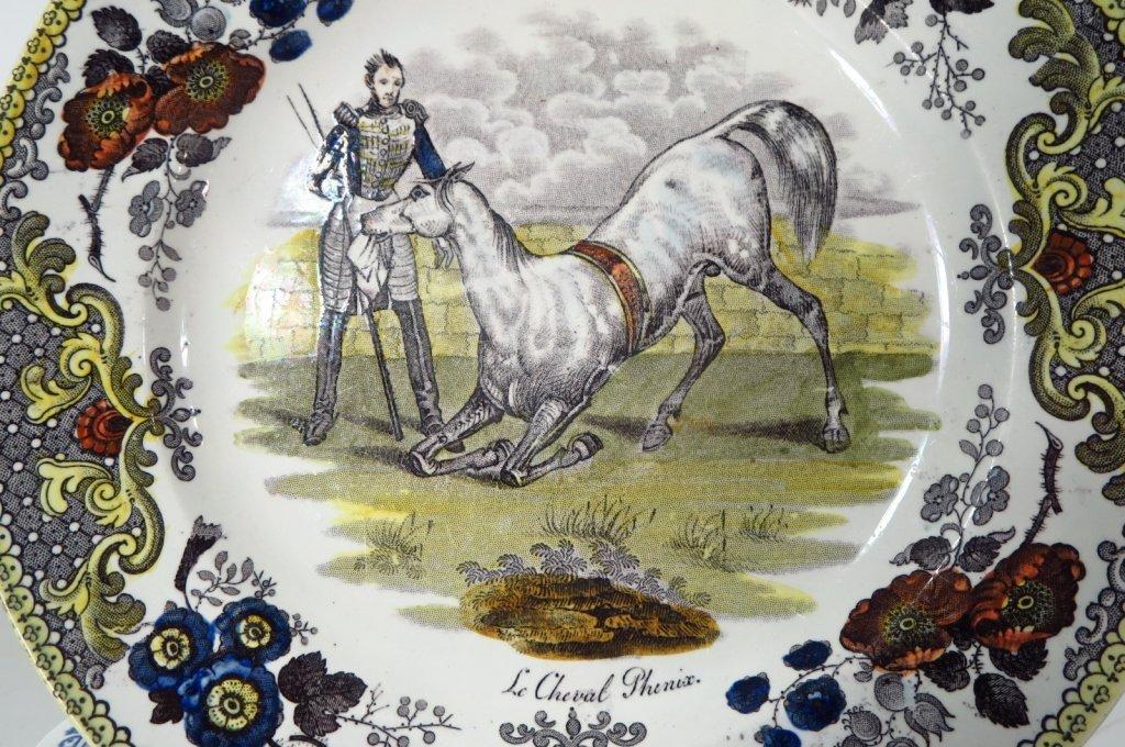 19 French Soft Paste & Porcelain Plates - 2
