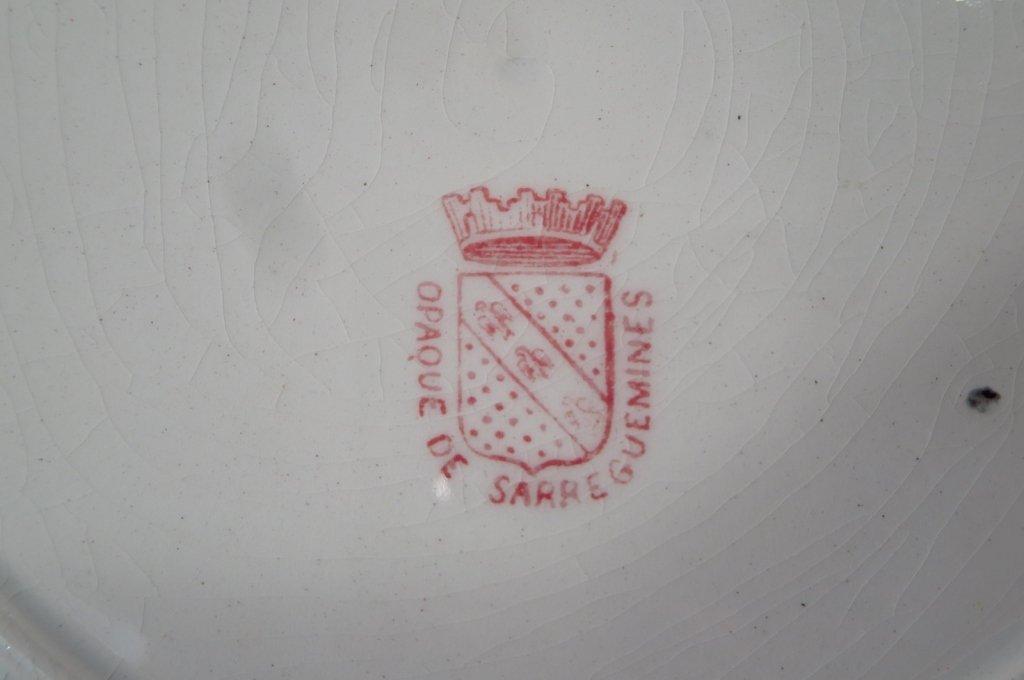 19 French Soft Paste & Porcelain Plates - 6