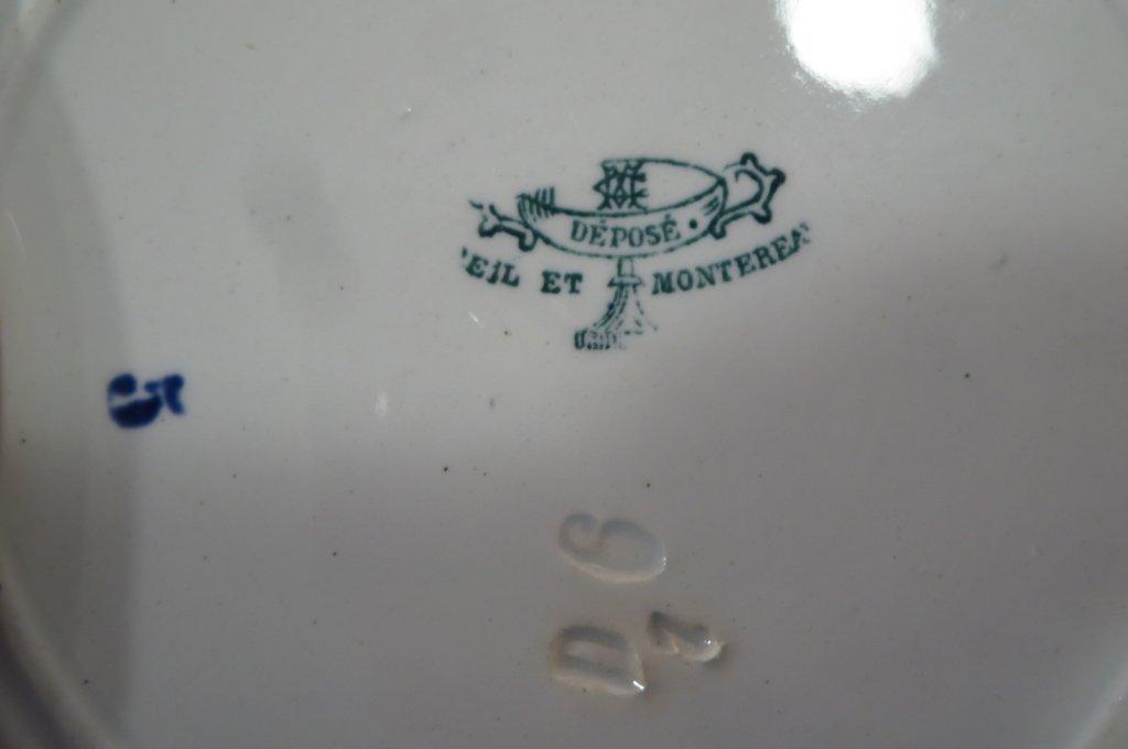 19 French Soft Paste & Porcelain Plates - 7