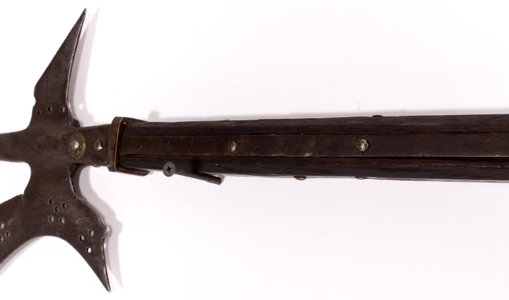Medieval Halberd, Probably Swiss, 16th/17th C. - 4