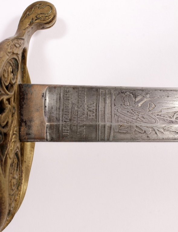 Civil War Era Horstmanns & Sons Sword - 4