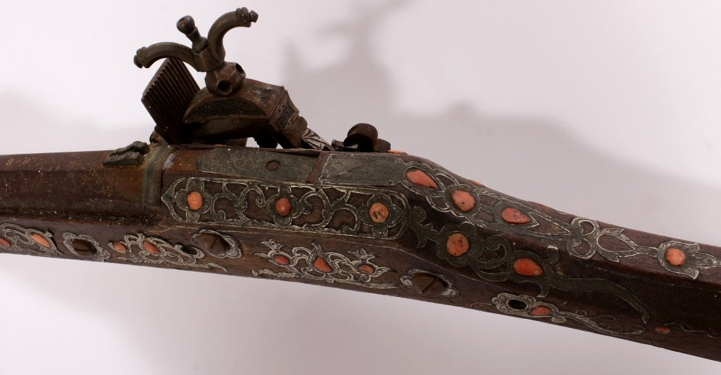 North African Miquelet Kabyle Long Gun, 19th c. - 10