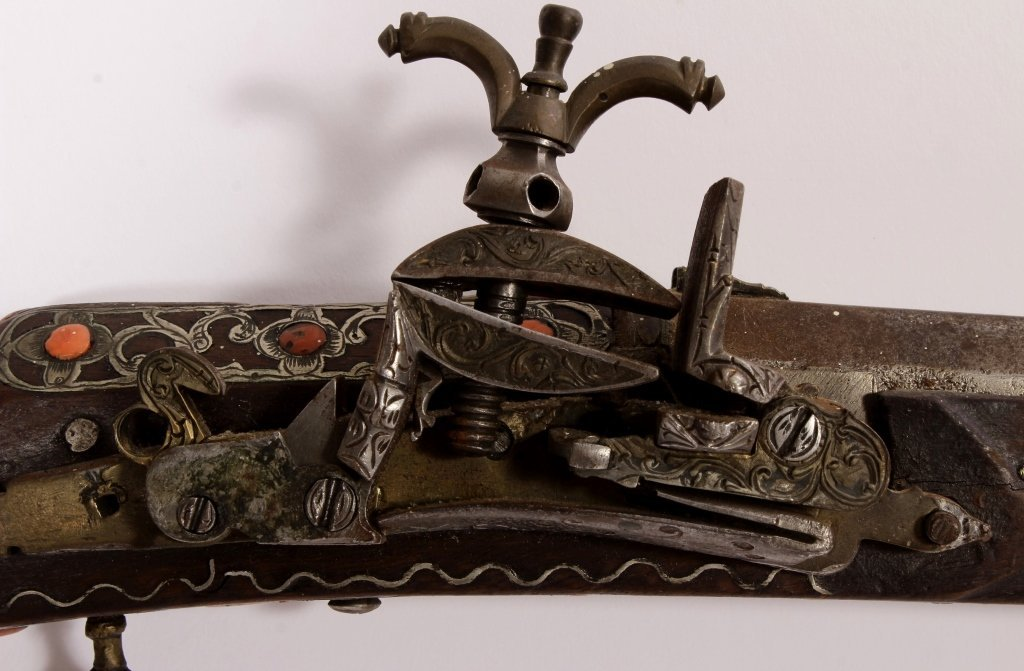 North African Miquelet Kabyle Long Gun, 19th c. - 6
