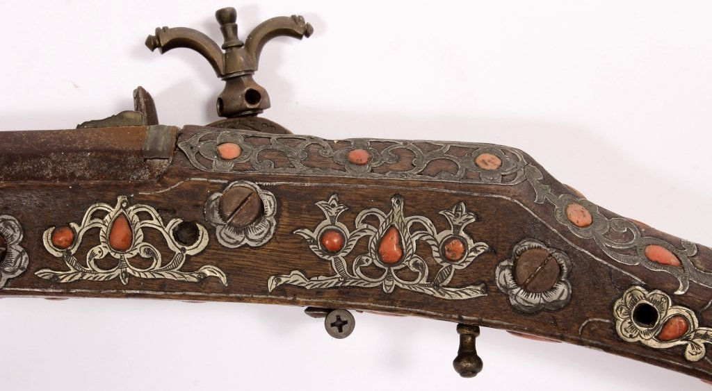 North African Miquelet Kabyle Long Gun, 19th c. - 8
