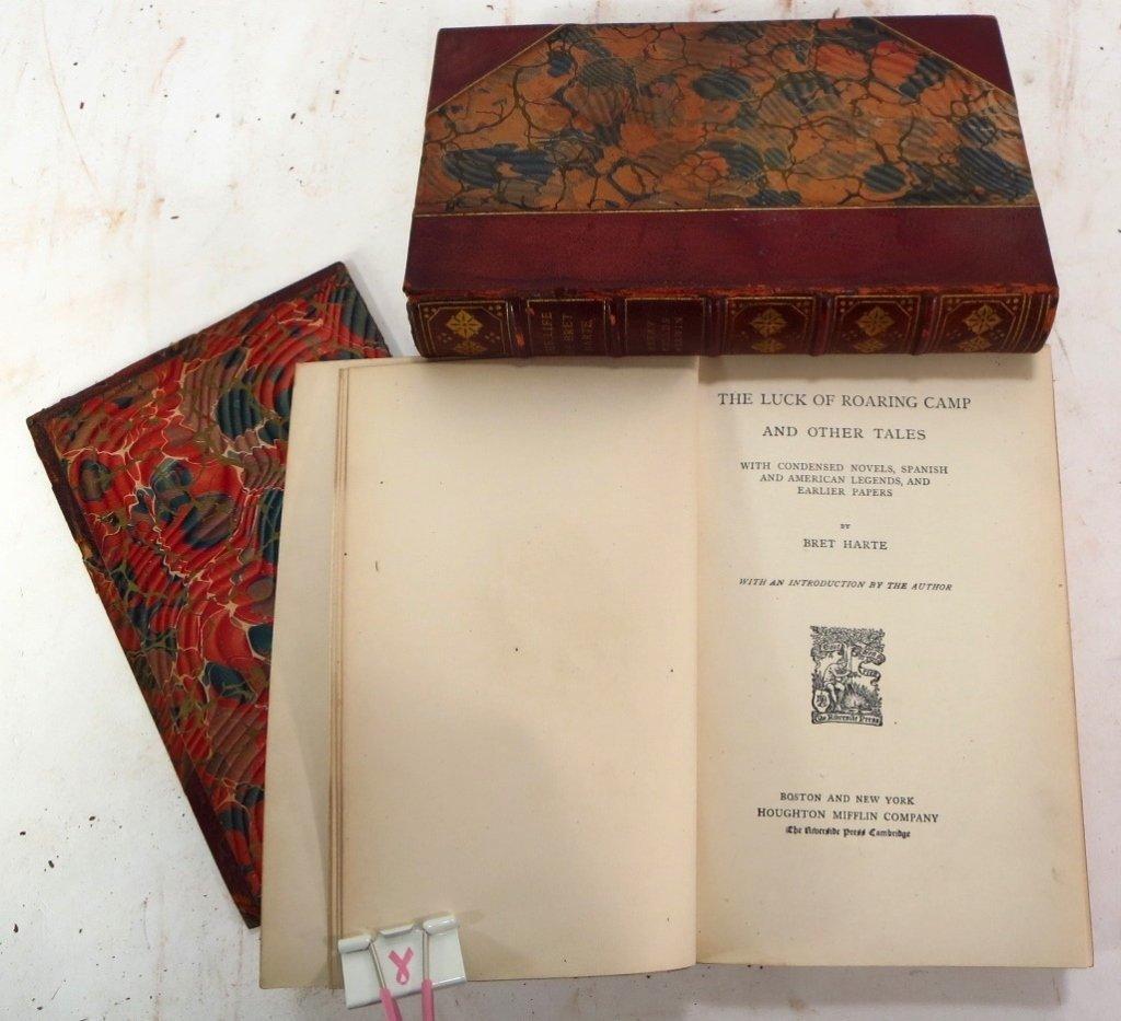 Mark Twains Works, Autograph Edition, & Bret Harte - 2