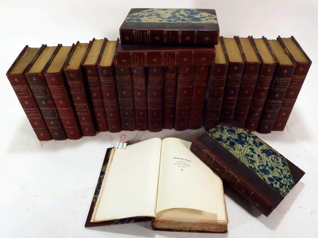 Mark Twains Works, Autograph Edition, & Bret Harte - 3