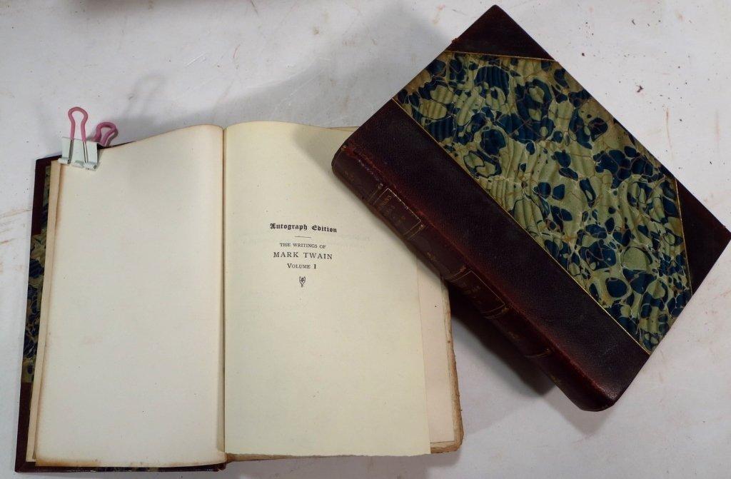 Mark Twains Works, Autograph Edition, & Bret Harte - 4