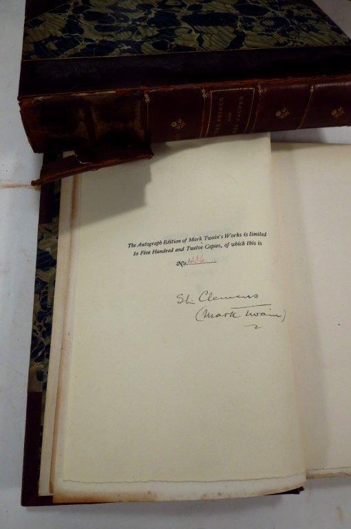 Mark Twains Works, Autograph Edition, & Bret Harte - 5
