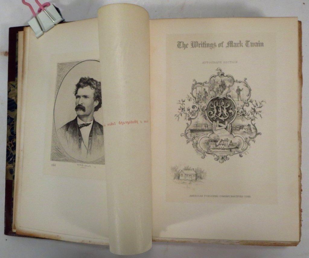 Mark Twains Works, Autograph Edition, & Bret Harte - 6