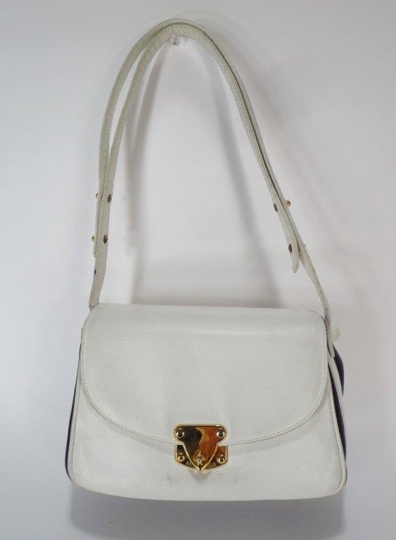 Bottega Veneta Navy/White Shoulderbag