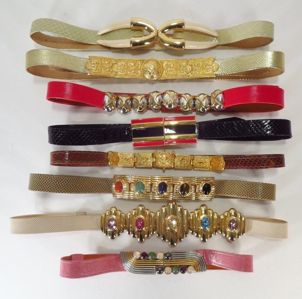 Alexis Kirk Designer Belts