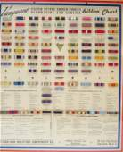 US Armed Forces Decoration Service Ribbons Chart
