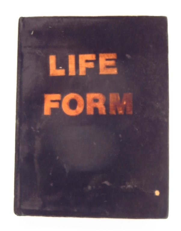"Richard Hambleton, ""Life Form"" Book Sculpture 1989-90"