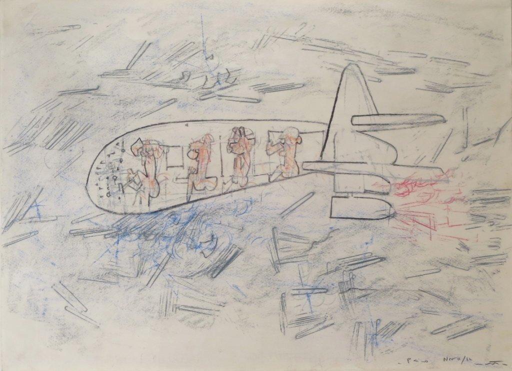 Roberto Matta (1911-2002) Untitled Drawing 1962