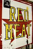 Ford Beckman (Am 1952) Red Meat  Acrylic/C 20th C.
