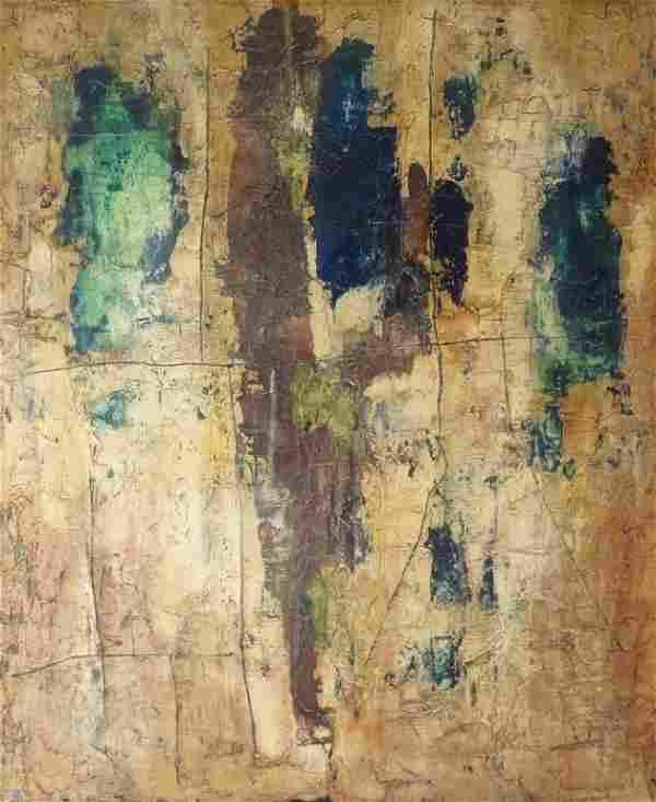 Abstract Mixed Media / Canvas 1962