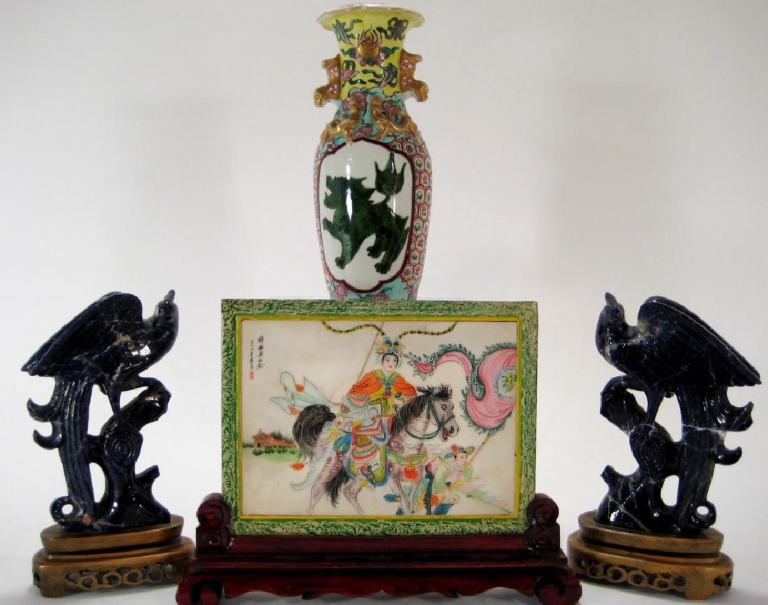 Lot of 4 Asian Decorative Items