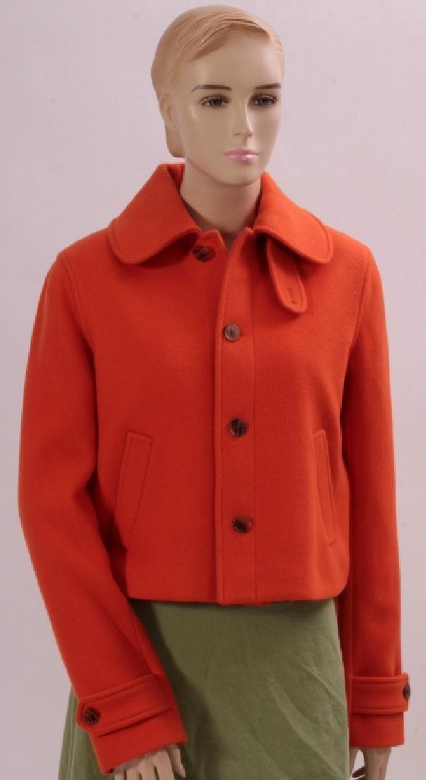 Ralph Lauren Orange Cashmere Jacket