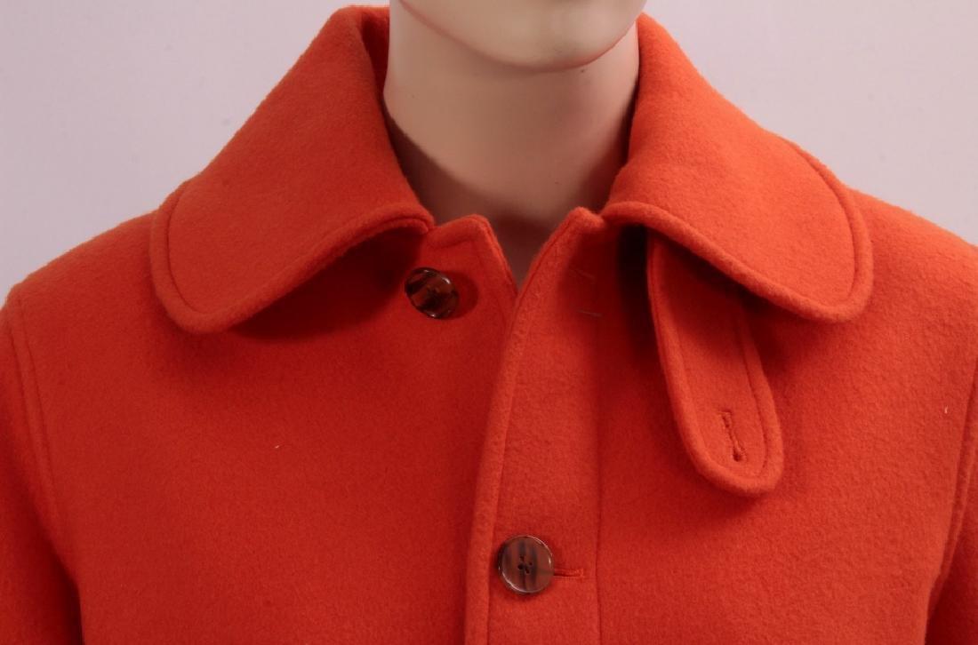 Ralph Lauren Orange Cashmere Jacket - 2