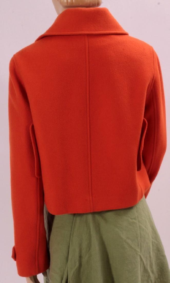 Ralph Lauren Orange Cashmere Jacket - 4