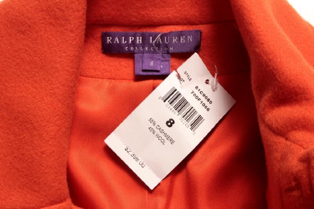 Ralph Lauren Orange Cashmere Jacket - 5