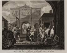 Nine 18th c and later Francophobic Prints